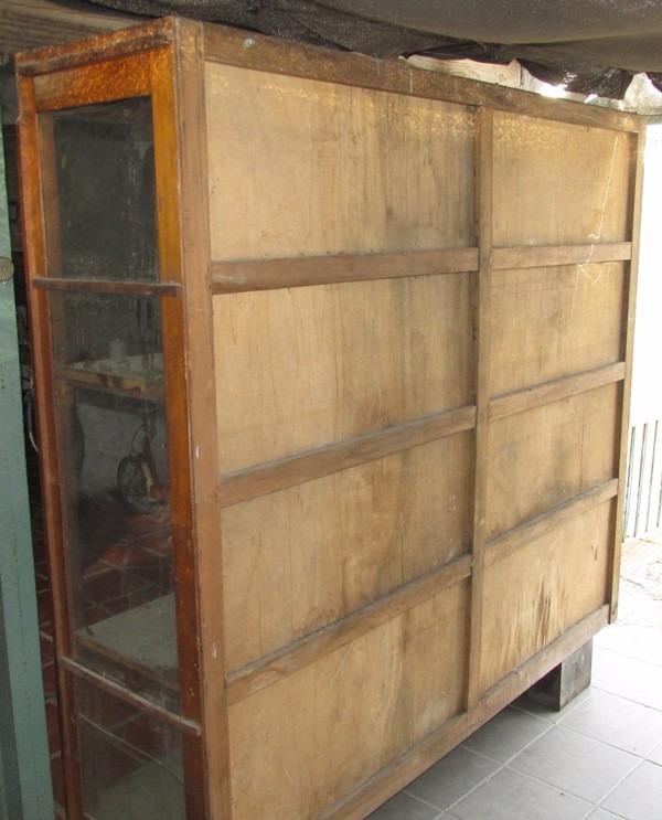 Imagenes de vitrinas de madera vitrina colonial puertas - Vitrinas de madera y vidrio ...