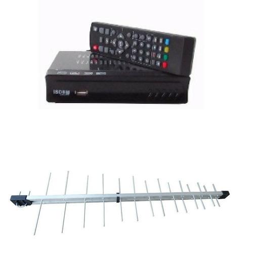 2 aparelho transforma sua tv em canal digital + 1 antena