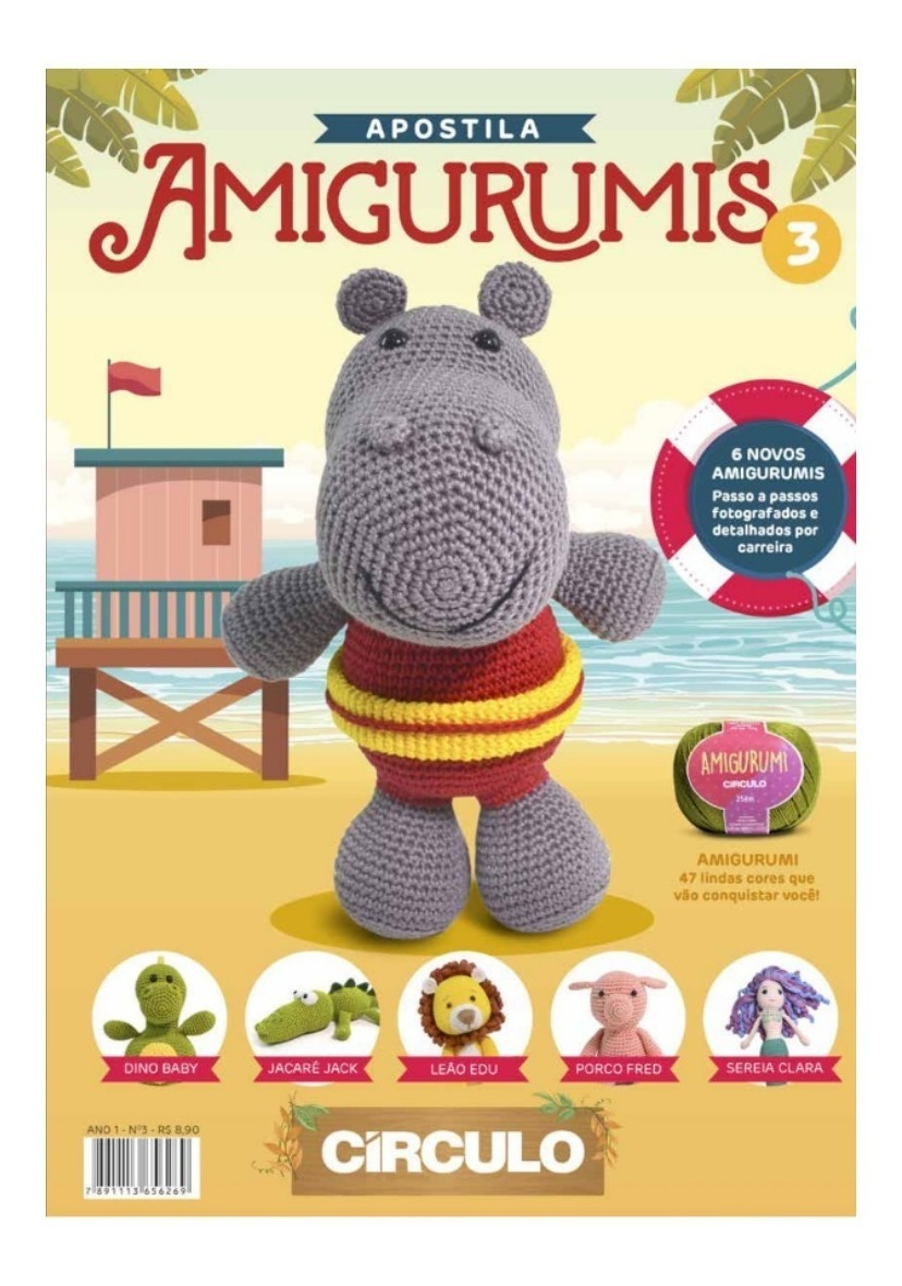 Aprenda Como Ler Receitas de Amigurumi | Revista Artesanato | 1180x828