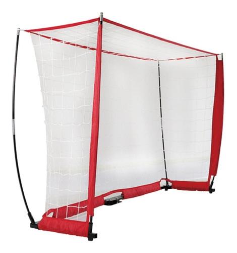 2 arco futbol red plegable 3,6x1,8m entrenamiento resistente