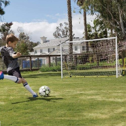 2 arcos futbol red plegable 2x1,4.m entrenamiento practica