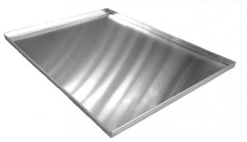 2 assadeiras para rocambole em alumínio grande (padrão)