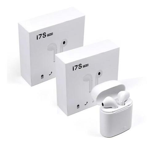 2 audífonos bluetooh tipo i 7 tws manos libres stereo