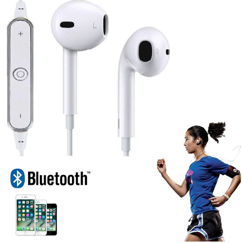 2 audifonos bluetooth inalambrico compatible ios android