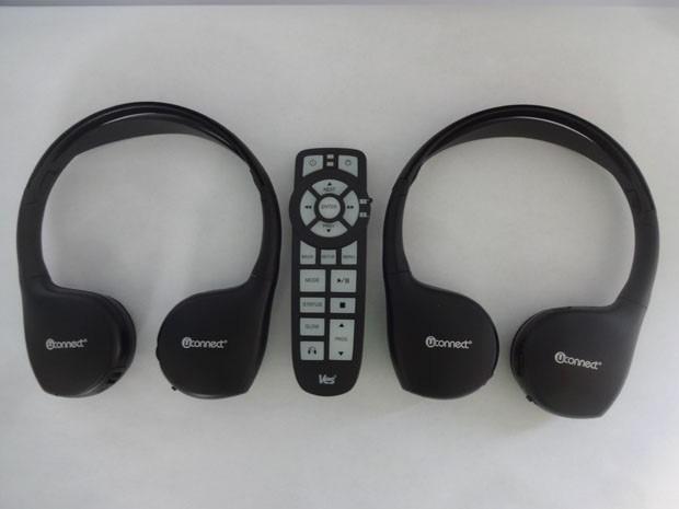 audifonos infrarrojos inhalambricos uconnect contrlol ves  en mercado libre