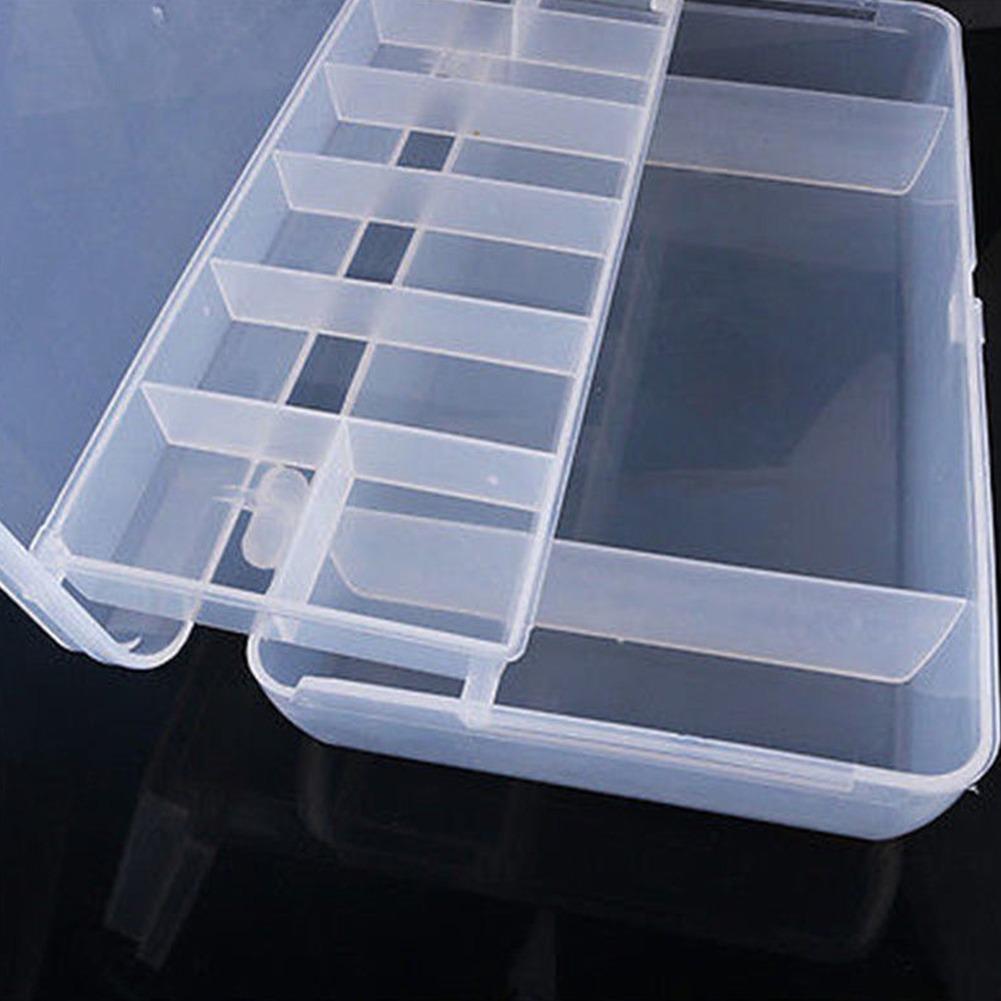 Caja Organizadora 7 Bandejas Caja de Aparejos de Pesca con Bandeja de Señuelos