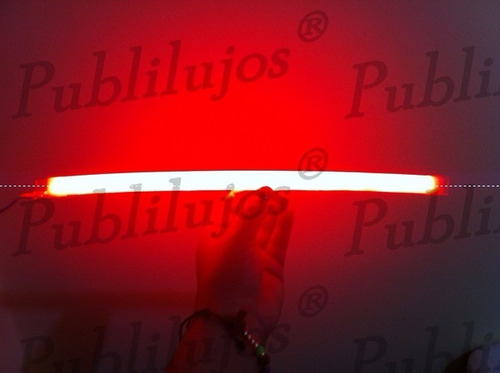 2 barras bicolor neon flexible led x 30 cm tuning universal