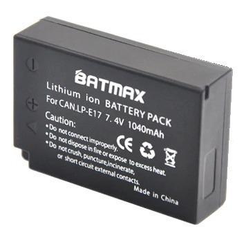 2 bateria e carregador lp-e17 m3 m5 750d 760d t6i 8000d