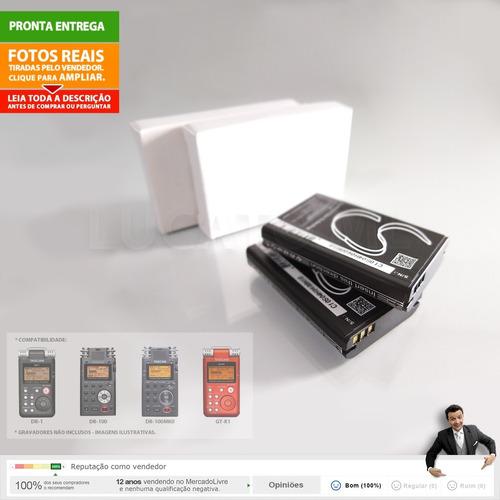 2 bateria p/ tascam bpl2 subst, dr1 gtr1 dr100 dr100mkii nc