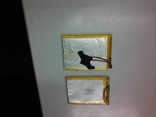 2 bateria pila tablet china 7 pulgadas 3000 mah 3.7v