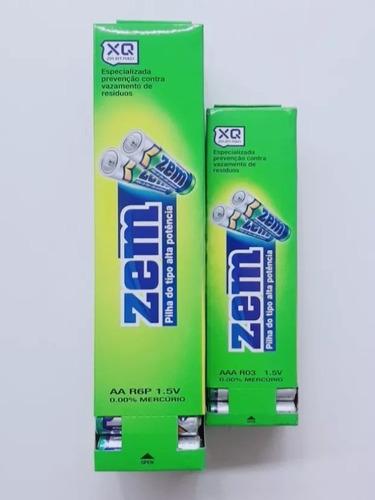 2 bateria pilha de zem pequena  aa  caixa c/60pilhas