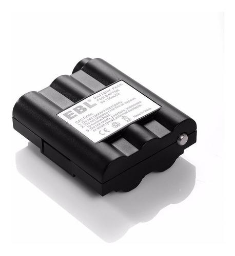 2 baterias 700mah nimh para midland avp7 batt-5r batt5r