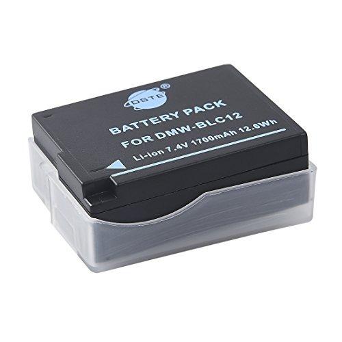 2 baterías dste  iones de litio  para panasonic lumix dmc-g