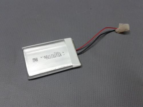 2 baterias mp4 mp3 etc 3,7v 400ma 4,3cm x 3cm x 4mm 2 fios