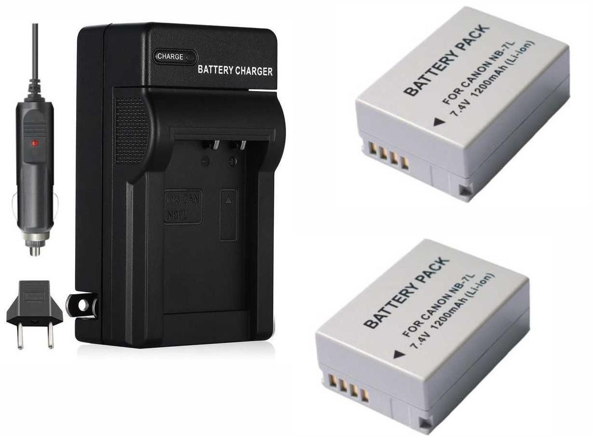 Original VHBW ® cargador para Canon PowerShot g12