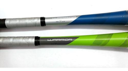 2 bats de béisbol warrior louisville botellón 33x28 2 pack