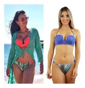 d0d4b7a70b61 Maio Bojo Quadrado - Moda Praia com o Melhores Preços no Mercado Livre  Brasil