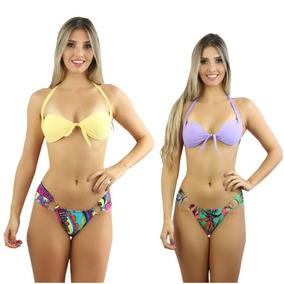 0c538b4ec4b6 Biquíni Com Bojo E Amarração Frontal Bali Mulher - Moda Praia com o Melhores  Preços no Mercado Livre Brasil