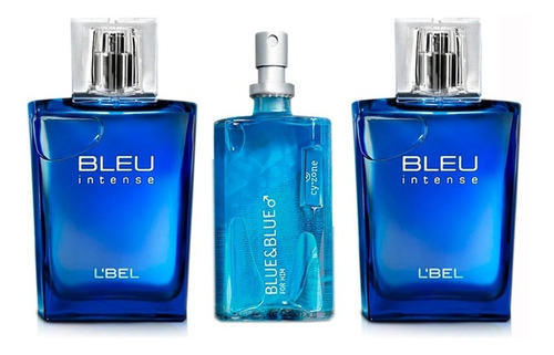 2 bleu intense y 1 blue & blue - l a $193