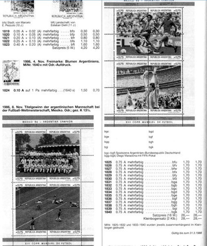 2 blocks argentina mexico 86 - argentina campeón