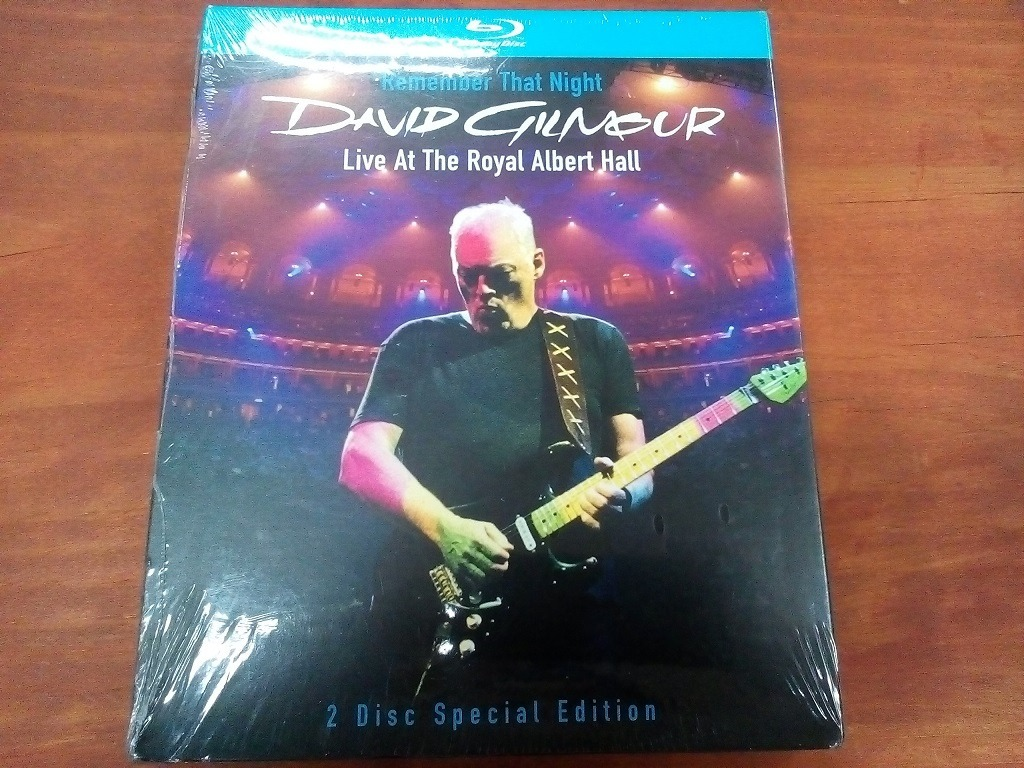 2 Blu Ray David Gilmour Live At The Royal Albert Hall