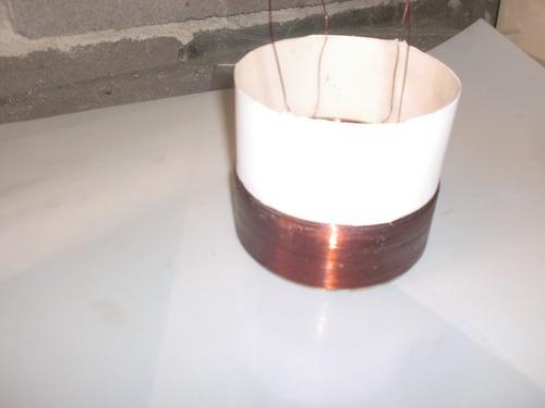 2 bobinas p sub  bravox  premium  plus 220 wrms  4+4ohms