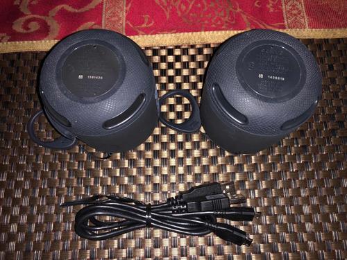 2 bocinas sony srs-xb10 bluetooth portátil negras excelentes
