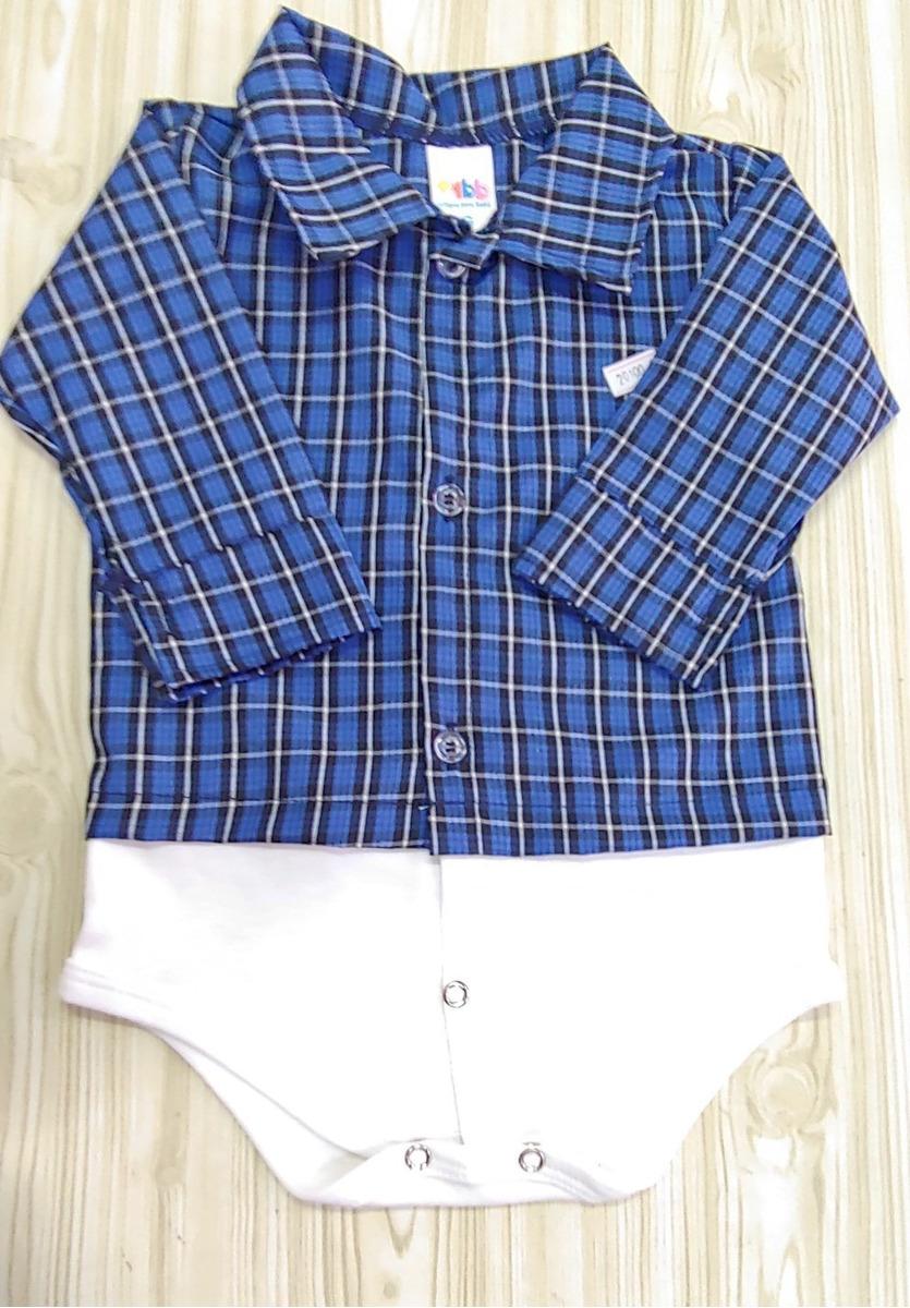 c69e3c134d93 2 Body Camisa Bebe - Enxoval Bebe