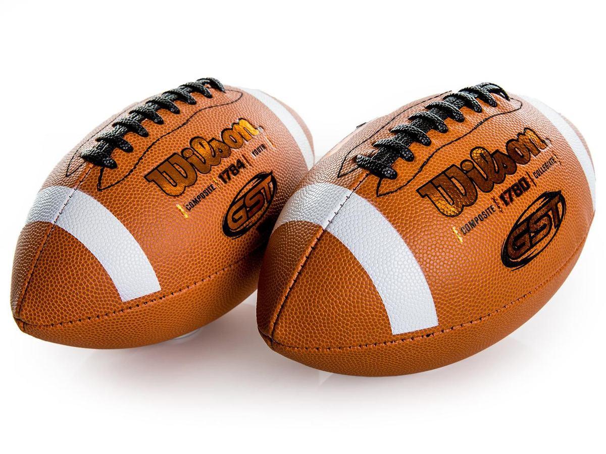 2 bolas futebol americano gst composite oficial nfl - wilson. Carregando  zoom. 48b833e8d0b