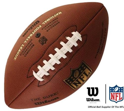 2 bolas futebol americano wilson nfl the duke pro oficial