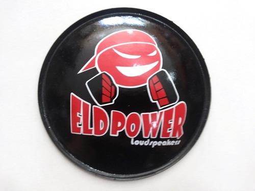 2 - bolha protetor p/ alto falante eld power 160mm + cola