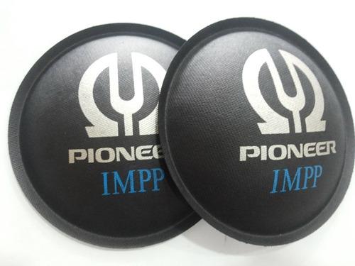 2- bolha protetor p/ alto falante pioneer impp 120mm + cola