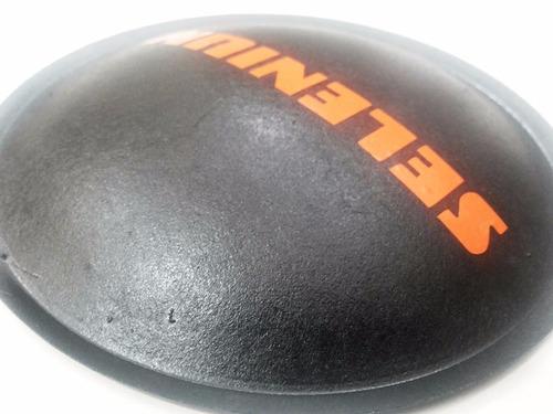 2 - bolha protetor para alto falante selenium 120mm + cola