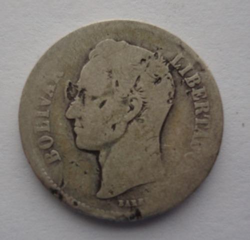 2 bolivares de 1922