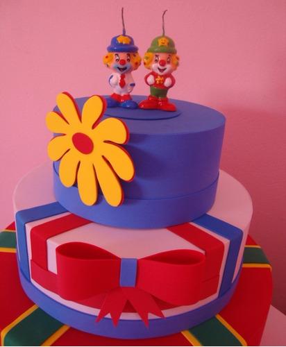 2 bolo fake de eva 2 andares qualquer tema