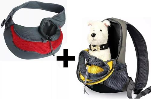 2 bolsos transporte mascotas perros gatos + regalo