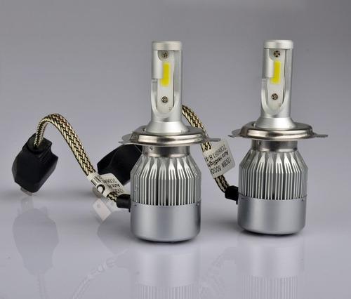 2 bombillos led hid 3800 lumens  h4 h7 h11 moto carro