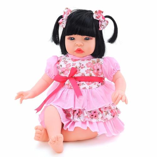 2 bonecas baby kiss chora e balbucia 910 - sid-nyl