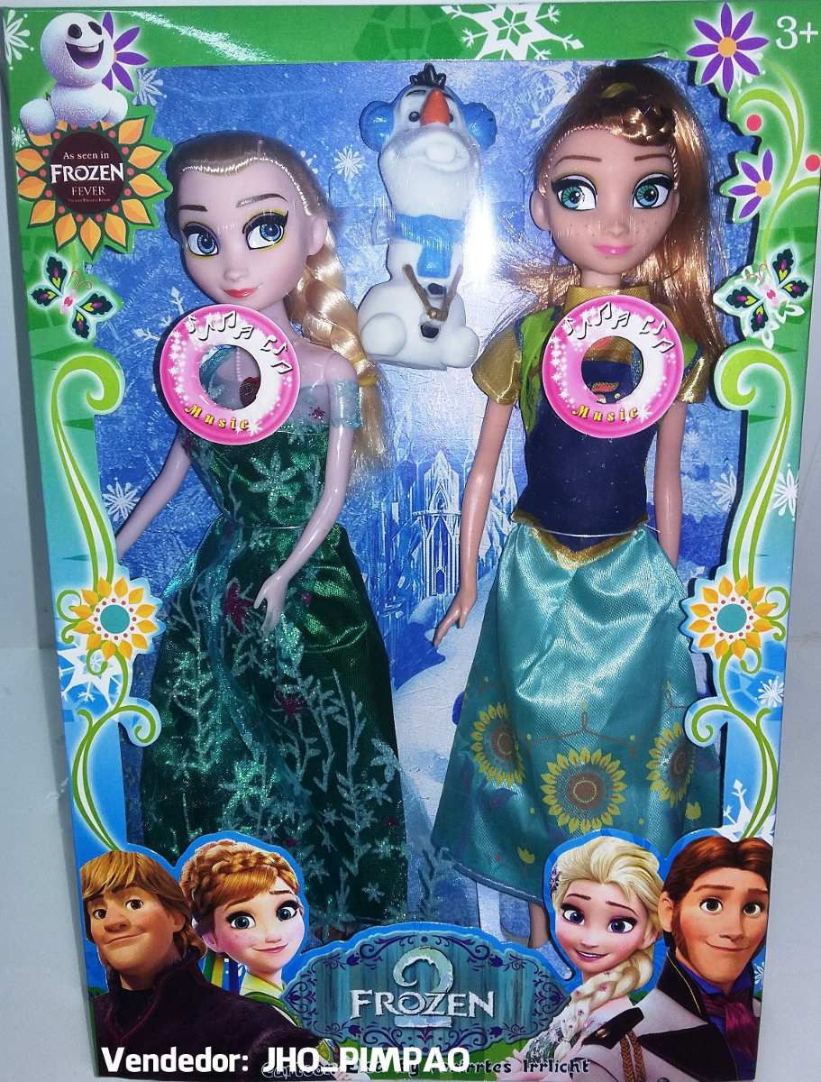 165304546d 2 bonecas do filme frozen disney musical elsa e anna. Carregando zoom.