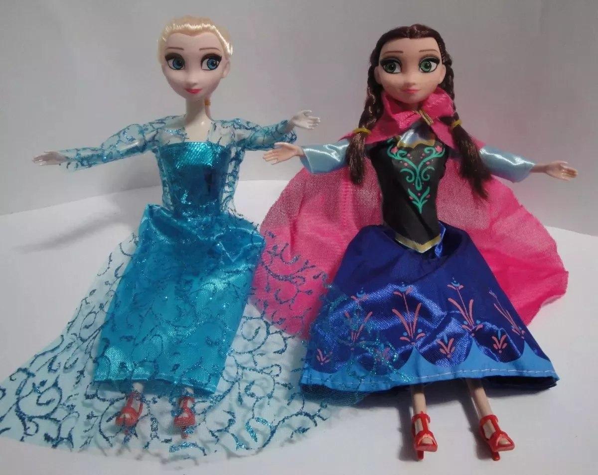 78785b23ba 2 bonecas frozen elsa e ana musical cantam let it go. Carregando zoom.
