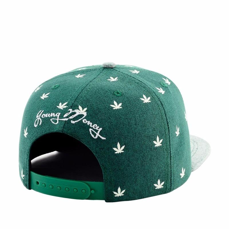 2 bonés young money weed (luminous)   brooklin. Carregando zoom. 49f92dda3ab