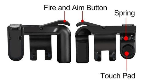 2 botones l1r1 mobile pubg apex free fire aim shoot hr