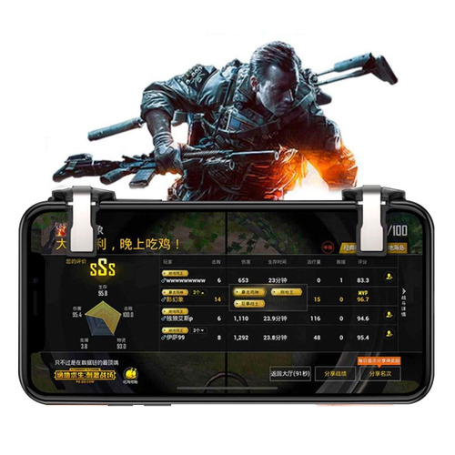 2 botones l1r1 mobile pubg fortnite free fire disparador lmn