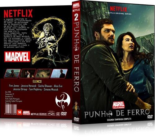2 box punho de ferro 1ª e 2ª temporada marvel netflix
