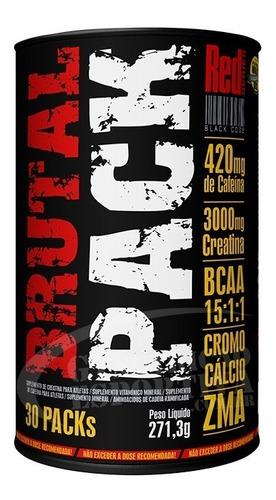 2 brutal pack 30 packs + hormobolic gh 100 tabs - red series