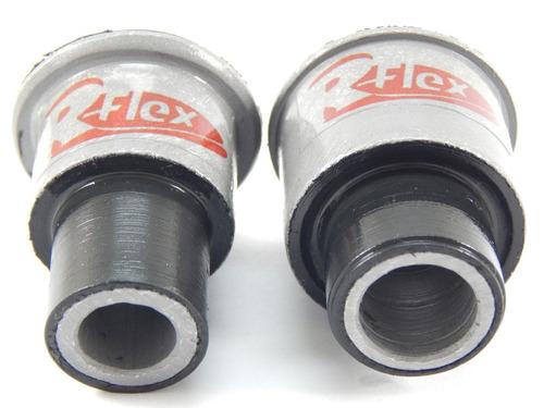2 buchas suporte lado esquerdo frontal quadro do motor tiida