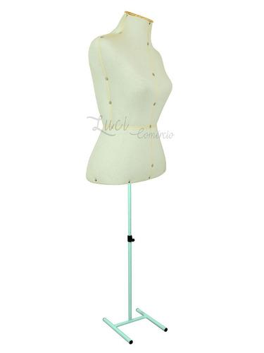2 busto manequim corte costura modelagem plana moulage 2 pés