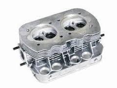 2 cabeçotes autolinea+ valvulas + juntas fusca vw1600 /84