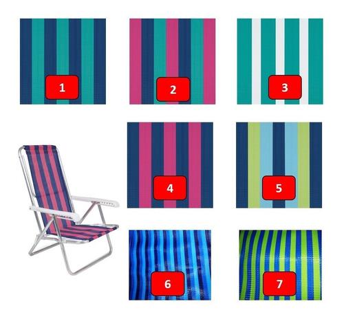 2 cadeira reclin + guarda sol + 2 mesa portátil + saca areia