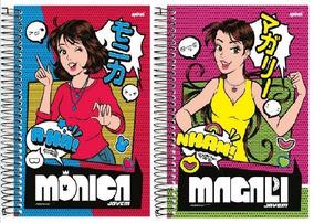 490b5dd11bf990 Turma Monica Jovem Caderno - Materiais Escolares no Mercado Livre Brasil